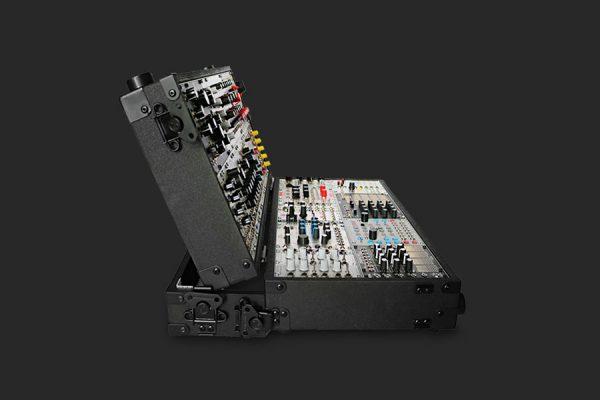 MDLRCASE Portable eurorackcase for modularsynth 12U/104HP
