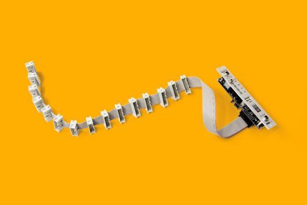 4HP eurorack PSU module