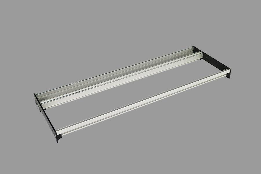 4U/104HP Eurorack rails-set complete row (Intellijel 1U size)